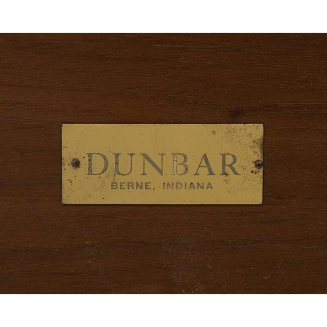 Edward Wormley Dunbar Coffee Cocktail Table 1960s Marked Brass Tag For Sale - Image 10 of 11