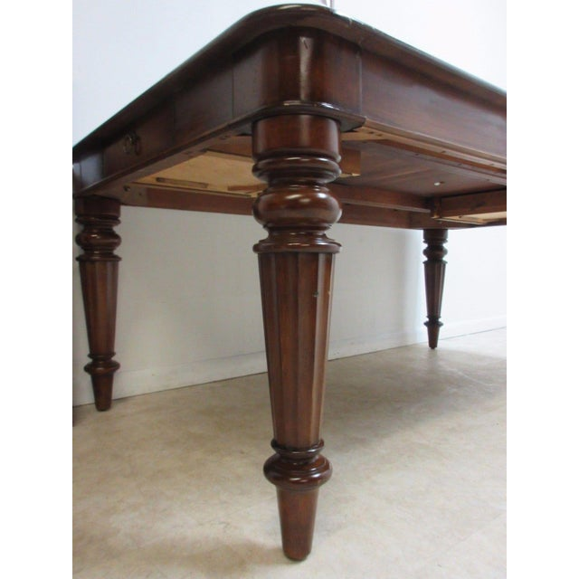 Pennsylvania House Cortland Manor Cherry Banquet Dining Conference Table For Sale In Philadelphia - Image 6 of 11