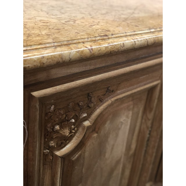 French Regency Marble Top Enfilade For Sale - Image 4 of 7