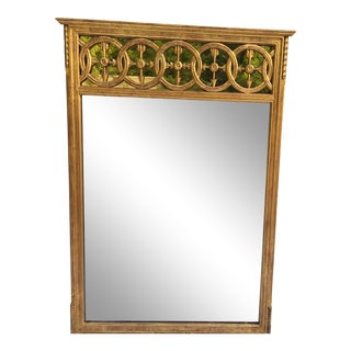 Italian Regency Style Gilt Wood Mirror For Sale