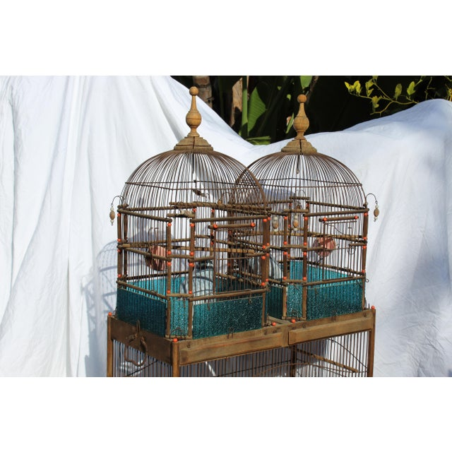 19th Century English Victorian Bird Cage For Sale - Image 4 of 9