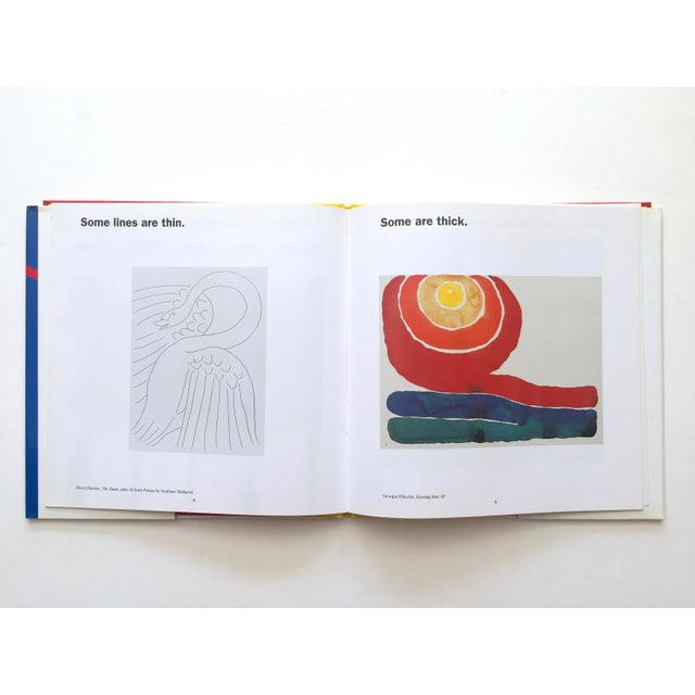""""""" Colors, Shapes, Lines """" Rare Vintage 1991 1st Edition Museum of Modern Art Children's Art Books - Set of 3 For Sale - Image 9 of 12"""