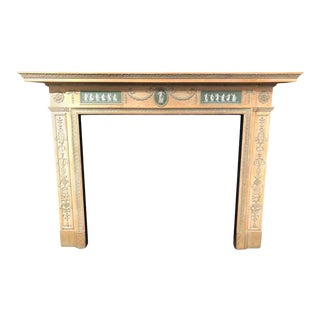 19th Century Adams Style Fire Surround For Sale