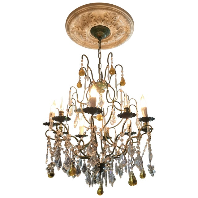 Clive Christian Crystal Chandelier - Image 1 of 3