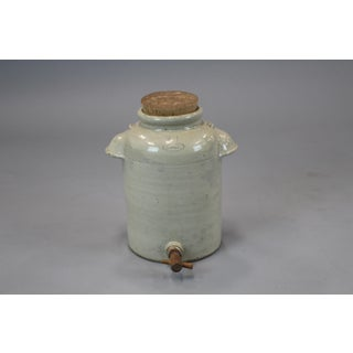 French Vinegar Jar With Lid & Spigot Preview