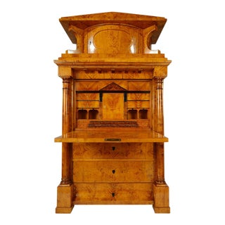 Biedermeier Secretary from Northern Germany, circa 1825 For Sale