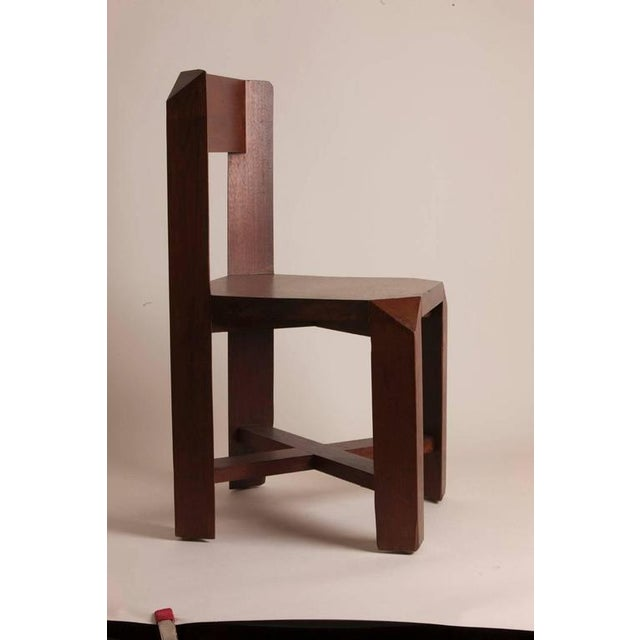 Pair of Chairs Attributed to the French Architect Dominique Zimbacca - Image 2 of 4