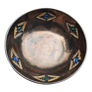 T S Woodruff Glazed Bowl For Sale