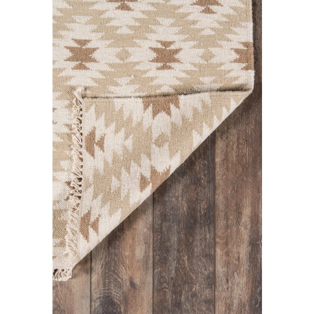 "Contemporary Erin Gates Thompson Newbury Beige Hand Woven Wool Area Rug 3'6"" X 5'6"" For Sale - Image 3 of 5"