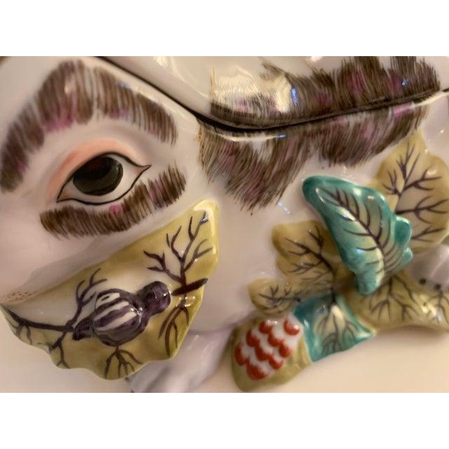 Ceramic Mid 20th Century Chelsea House Porcelain Rabbit For Sale - Image 7 of 10