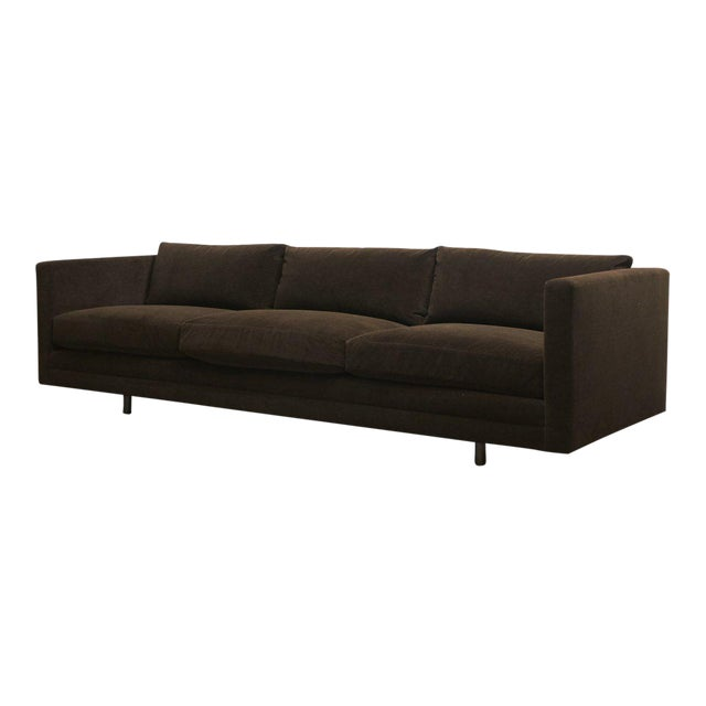 Harvey Probber Chocolate Sofa For Sale