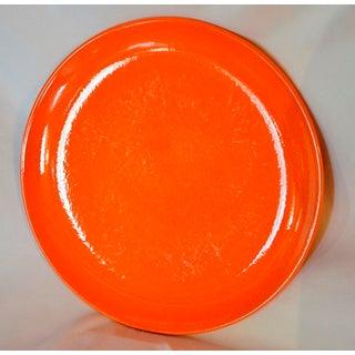 Vintage Orange Waechterbach Plates - Set of 4 Preview