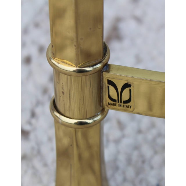1970s Modern Italian Brass Ottomans For Sale - Image 9 of 11