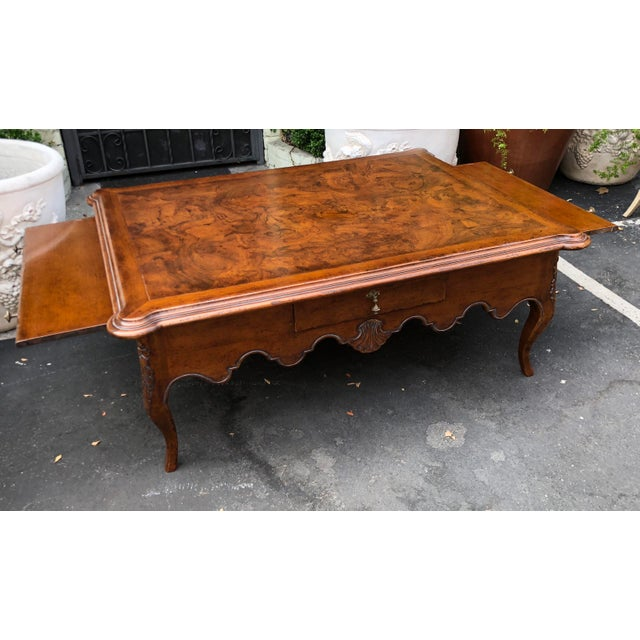 2000s Signed David Michael Formal Living Coffee Table For Sale - Image 5 of 7