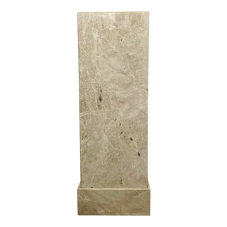 1990s Marble Pedestal For Sale