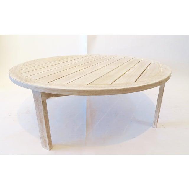 Custom Teak Coffee Table - Image 2 of 5