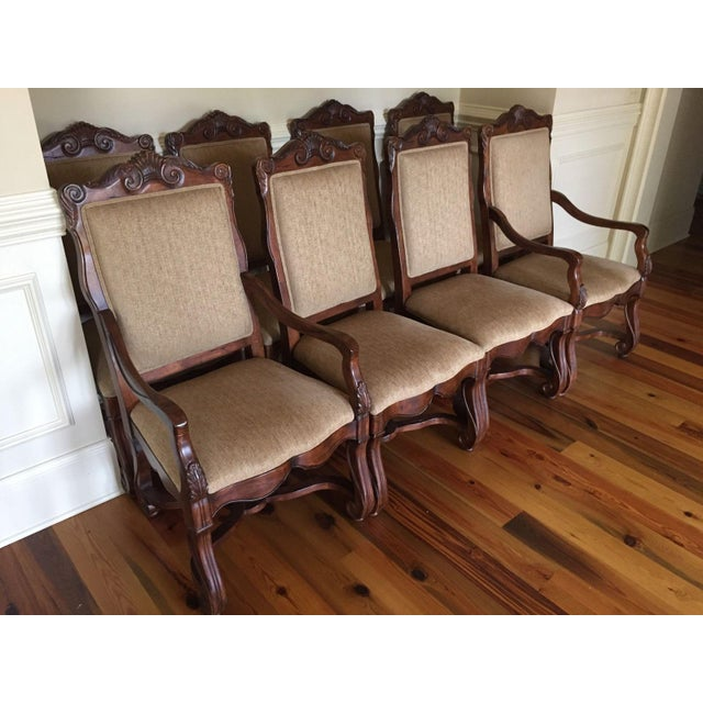 Hekman Loire Valley French Country Dining Chairs - Set of 8 - Image 3 of 3