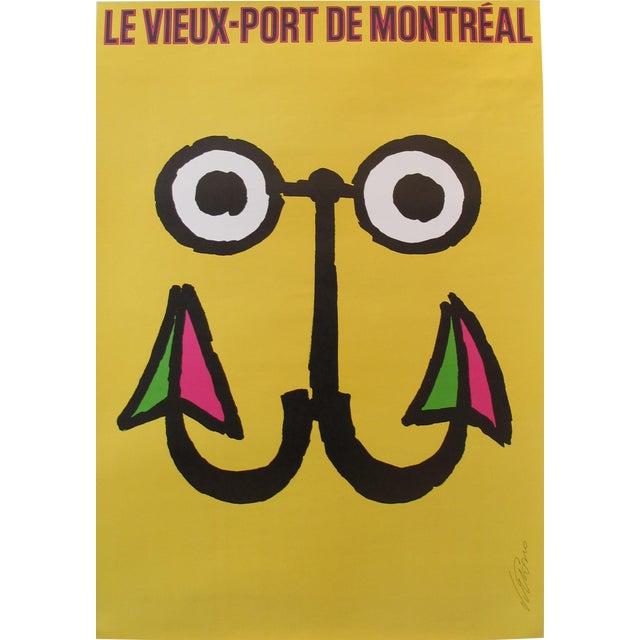 1984 Vintage Travel Poster, Festival du Vieux Port Montreal - Image 1 of 2