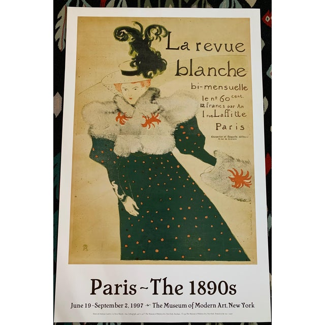 1997 Toulouse-Lautrec Paris Museum of Modern Art Poster For Sale - Image 13 of 13