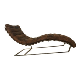 Restoration Hardware Oviedo Leather Chaise