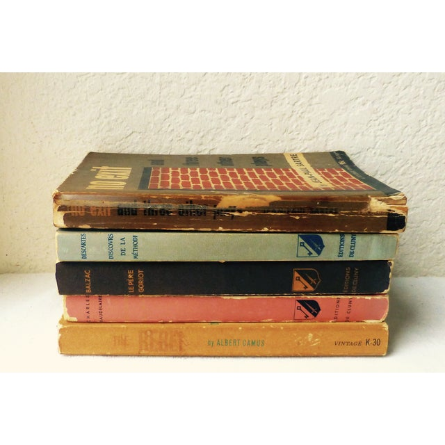 Vintage French Paperback Books - Set of 5 - Image 3 of 9