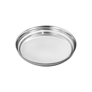 Georg Jensen Art Deco Stainless Steel Manhattan Wine Coaster For Sale