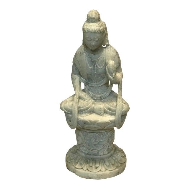 Marble Decorative Buddha Figure - Image 1 of 3