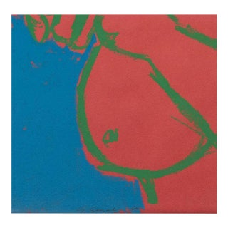 George Segal Lithograph Entitled 'Woman Brushing Her Hair', Realized in 1965 For Sale