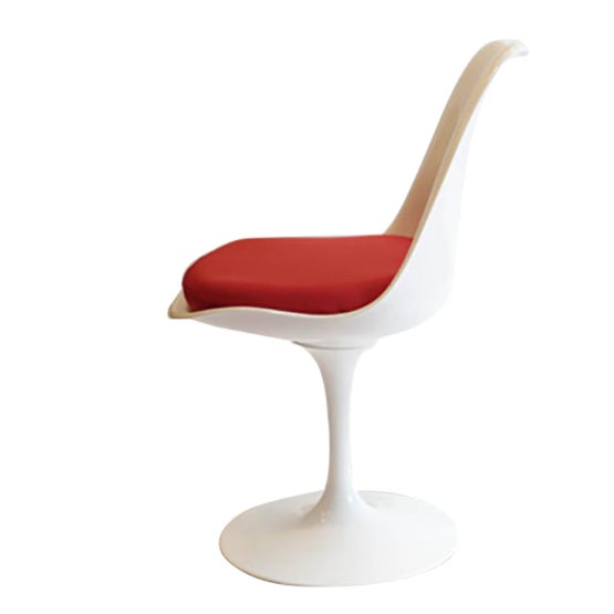 Saarinen Tulip Armless Chair by Knoll - Image 11 of 11