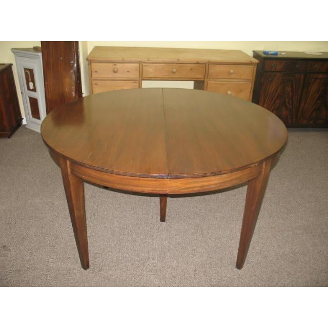 Antique Extending Mahogany Dining Table - Image 2 of 11