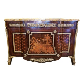 19th Century Louis XVI Commode After Reisener For Sale