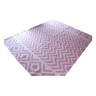 Madeline Weinrib Lilac Lupe Rug - 8' x 10' For Sale