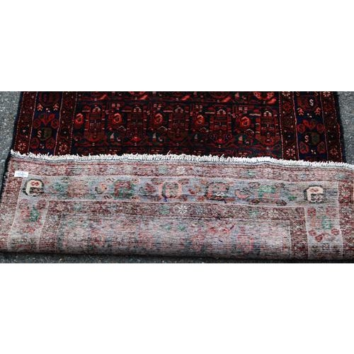 Semi-Antique Hosseinabad Rug - 4′ × 8′6″ - Image 3 of 4