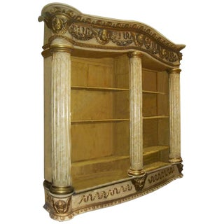 19th Century Architectural Bookcase For Sale