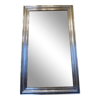 Louis Phillippe Silver Mirror For Sale