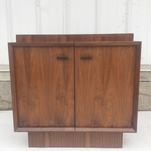 Mid-Century Brutalist Nightstand For Sale - Image 13 of 13