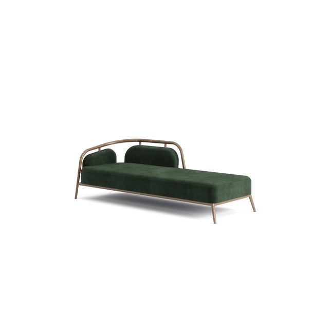 Mid-Century Modern Green Essex Day Bed For Sale - Image 3 of 5