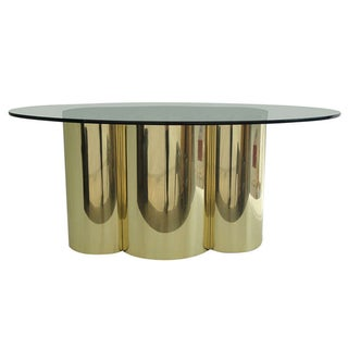 Mastercraft Quatrefoil Design Oval Table Base