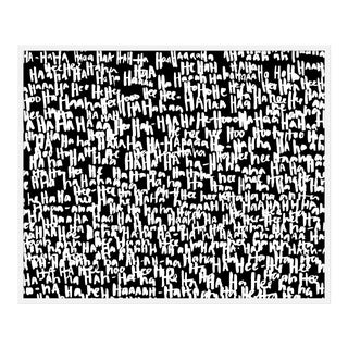 "Large ""haha Blotch"" Print by Kate Roebuck, 45"" X 34"" For Sale"