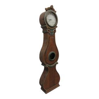Mid 19th Century Painted Swedish Mora Clock For Sale