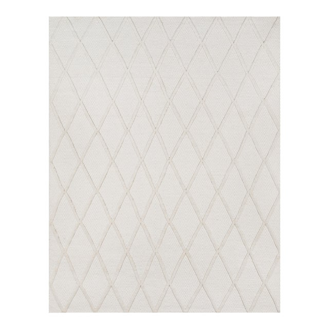 Textile Erin Gates by Momeni Langdon Spring Beige Hand Woven Wool Area Rug - 8′6″ × 11′6″ For Sale - Image 7 of 7