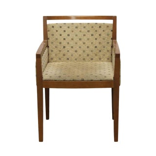 Late 20th Century Mid-Century Style Upholstered Arm Chair For Sale