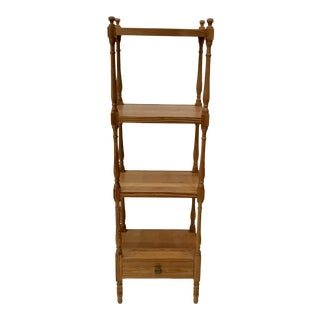 American Classical Pine Shelf Etagere For Sale