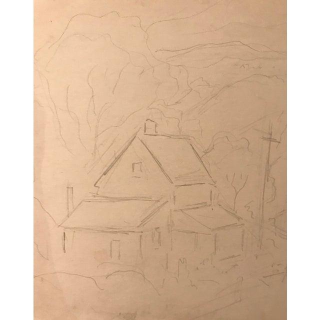 Eliot Clark Kent, Connecticut Drawing For Sale