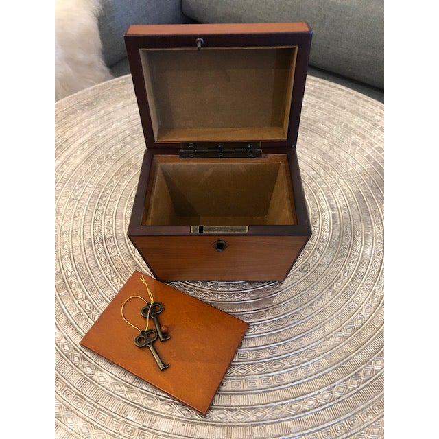 Yew Wood Box For Sale In New York - Image 6 of 6