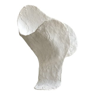 'Muted' Minimalist Plaster Sculpture For Sale