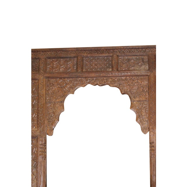 1920s Art Deco Wooden Arch Door Frame | Chairish