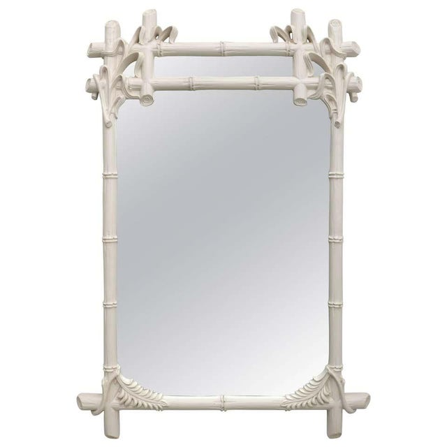 Gampel - Stoll Faux Bamboo Mirror For Sale - Image 13 of 13