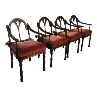 Romanesque/Gothic Style Chairs For Sale