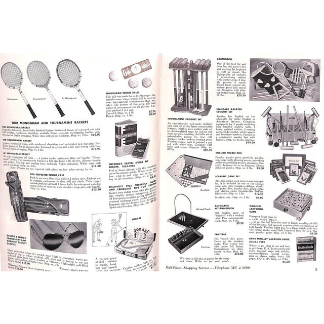 Abercrombie & Fitch Play Hours 1953 Catalog For Sale In New York - Image 6 of 8